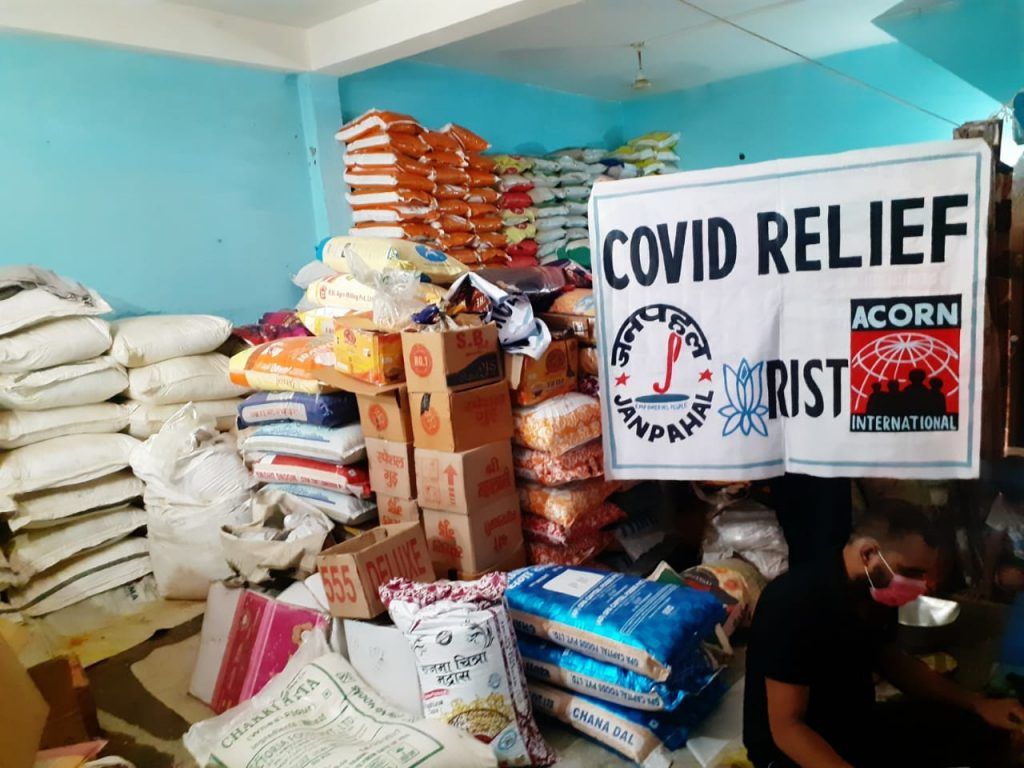 ACORN India, COVID relief in India, COVID crisis in India